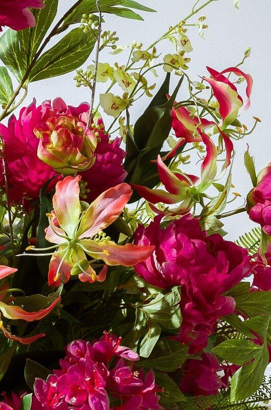 kwiaty sztuczne na lato